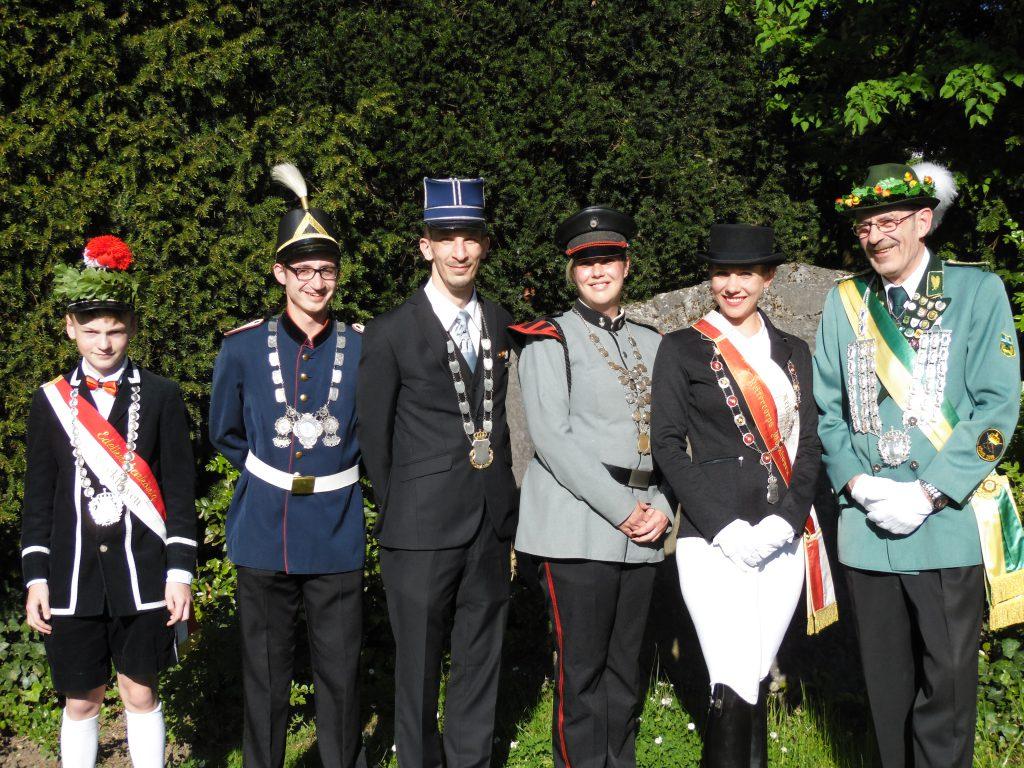 Korpskönige / Korpssieger
