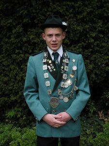 Schülerkönig Nico Schroth