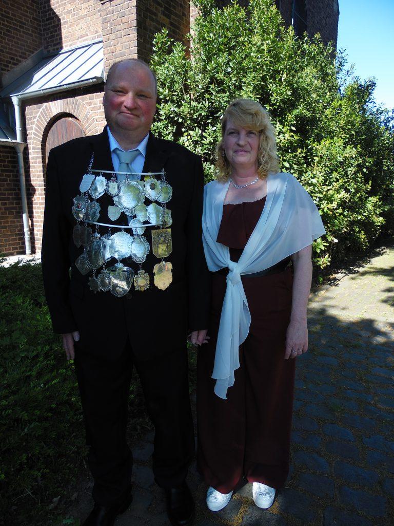 Schützenkönig Thomas III Reiß und Königin Conny
